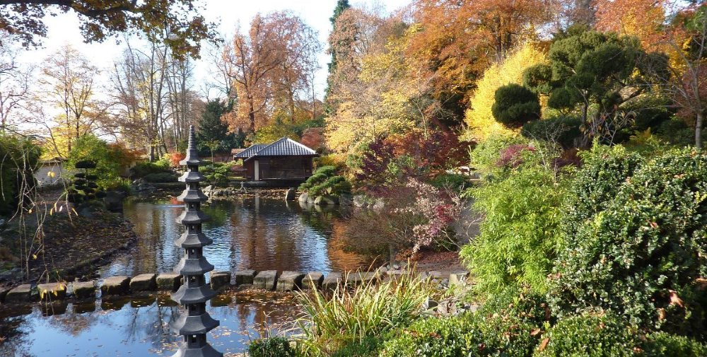 The Japanese Garden in Kaiserslautern